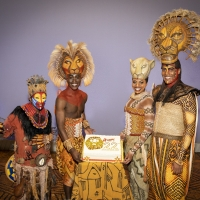Photo Flash: THE LION KING Celebrates 22 Years on Broadway Photos
