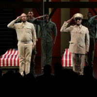 Photo Coverage: The Cast of A SOLDIER'S PLAY Takes Their Opening Night Bows Photo