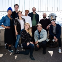 Photo Coverage: THE LIGHTNING THIEF Company Poses Atop the Empire State Building! Photos
