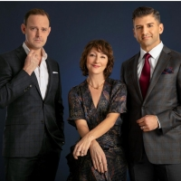 Photo Flash: First Look at Harry Hadden-Paton, Carmen Cusack and Tony Yazbeck in FLYING OVER SUNSET