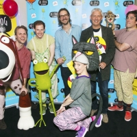 Photo Flash: Inside the Press Party For OI FROG & FRIENDS!