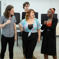 Photo Flash: Lonny Price And The Cast of SCOTLAND, PA Prep For Their World Premiere Photos