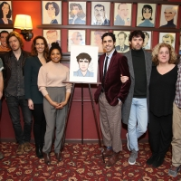 Photo Coverage: Damon Daunno of OKLAHOMA! Receives Sardi's Portrait