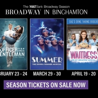 WAITRESS, SUMMER, and More Announced For Broadway in Binghamton's 2021-22 Season Photo