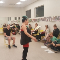 Photo Flash: Rehearsals Underway For Cowardly Scarecrow's CABARET Opening In October Photos