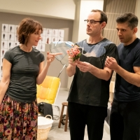 Photo Flash: Go Inside Rehearsals for FLYING OVER SUNSET with Carmen Cusack, Tony Yaz Photo