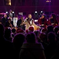 Photo Flash: John Legend, Gwen Stefani, & Brett Eldredge Rehearse for CHRISTMAS IN ROCKEFELLER CENTER