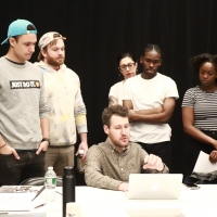 Photo Flash: First Rehearsal of BETWEEN THE BARS at HERE Arts Center Photo