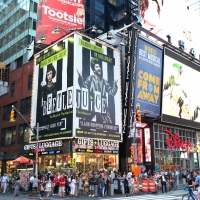 Photo Coverage: BEETLEJUICE Haunts Times Square With New Billboard