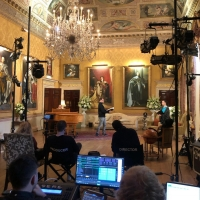 Photo Flash: THE SORROWS OF SATAN Films In Historic Brockett Hall Photo
