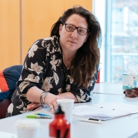 Photo Flash: Inside Rehearsal For SNOWFLAKE at the Kiln Theatre