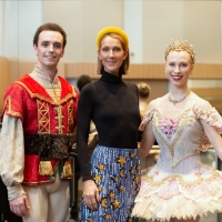 Photo Flash: Celine Dion Visits the National Ballet of Canada's Production of THE NUTCRACKER