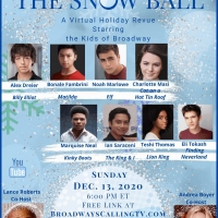 Young Broadway Stars Join THE SNOW BALL A Holiday Streaming Special Photo