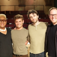 Photo Flash: Garrett Clayton & Charlie Thurston Star in LAVENDER MEN Staged Reading Photo
