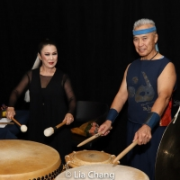 Photo Flash: Taiko Master Kenny Endo Performs With Keiko Fujii Dance Co. At The Theater At Gibney