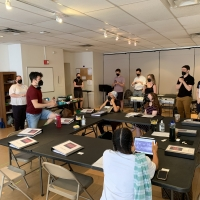 Photos: Go Inside Rehearsals for A COMMERCIAL JINGLE FOR REGINA COMET Photo
