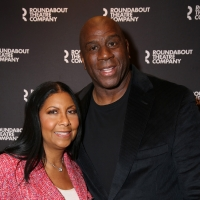 Photo Coverage: Billy Porter, Magic Johnson, and More Walk Red Carpet at Opening Nigh Photo