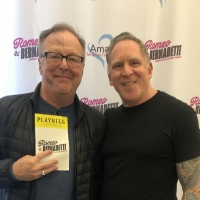 Photo Flash: Edward Hibbert Visits ROMEO & BERNADETTE Photo