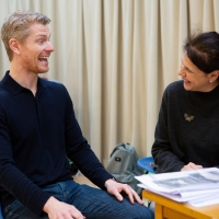 Photo Flash: Inside Rehearsal For THE HAYSTACK at Hampstead Theatre Photo