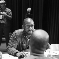 Photo Flash: Inside Rehearsal For Signature Theatre's THE HOT WING KING Photo