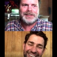 VIDEO: John Krasinski And Rainn Wilson Talk Bringing Good News To The Internet Photo