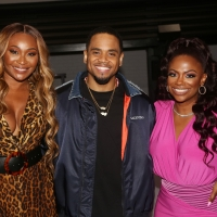 Photos: Cynthia Bailey Visits Kandi Burruss Backstage at THOUGHTS OF A COLORED MAN Photo