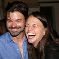 VIDEO: Watch Hunter Foster, Sutton Foster, Jeremy Kushnier & More Celebrate Redhouse  Photo