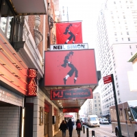Up on the Marquee: MJ THE MUSICAL Photos