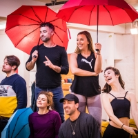 Photo Flash: First Look at Rehearsals for the New UK Tour of FRIENDSICAL Photo