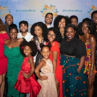 Photo Flash: ONCE ON THIS ISLAND Tour Cast and Creatives Celebrate Opening Night Photo