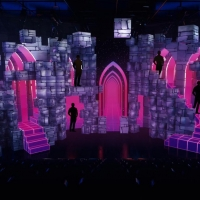 Photo Flash: Sneak Peak of EMOJILAND Scenic, Projection and Lighting Design