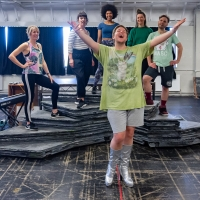 Photo Flash: Inside Rehearsal For MILKY PEAKS at Theatr Clwyd