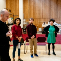Photo Flash: Inside Rehearsal For ALL OF US at the National Theatre Photos