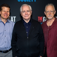 Photo Coverage: Brian Cox, Bryce Pinkham, Mark Kudisch, And The Cast of THE GREAT SOCIETY Meets The Press Photos