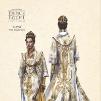 Photo Flash: Get a Look at Costume Sketches From THE PRINCE OF EGYPT