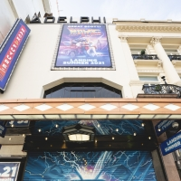 Photo Flash: BACK TO THE FUTURE: THE MUSICAL Marquee Goes Up at the Adelphi Theatre Photo