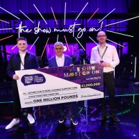 THE SHOW MUST GO ON! LIVE AT THE PALACE THEATRE Raises £1 Million For Charities Photo