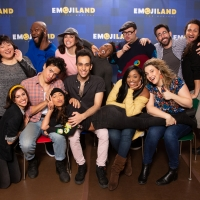 Photo Flash: First Look at EMOJILAND Rehearsal Photos with Lesli Margherita, Josh Lamon and More