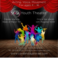 Center Stage Israel Launches Youth Theater Classes Photo