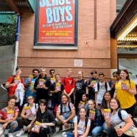 BWW Exclusive: JERSEY BOYS Cast Travels to Staten Island to Deliver Sing for Hope Pia Photo