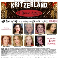 Kritzerland Announces Virtual Concert ALL THE WEILL Photo