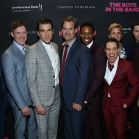 Jim Parsons, Zachary Quinto, and THE BOYS IN THE BAND Cast Kickoff GLSEN RESPECT EVER Photo