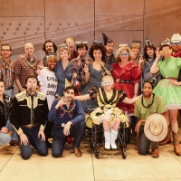 Photo Flash: The Cast and Band of OKLAHOMA! Celebrated Their New Years Eve Early With Photo