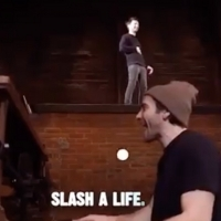 VIDEO: Jake Gyllenhaal and Tom Sturridge Jam Backstage at SEA WALL/A LIFE!
