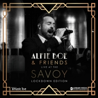 Alfie Boe and eMusic Live Launch New Livestream Event: Alfie Boe & Friends Live at the Sav Photo