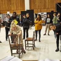 Photo Flash: Go Inside Rehearsals for THE WELKIN at the National Theatre Photo