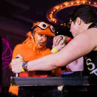 Photo Flash: The Chicago League of Lady Arms Wrestlers Presents CLLAW XXXIV: Good vs. Evil