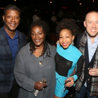 Photo Flash: The Cast and Crew of CAROLINE, OR CHANGE Meet the Press Photo