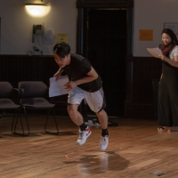 Photo Flash: In Rehearsal with Steppenwolf's THE GREAT LEAP Photos
