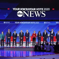 Photo Flash: See Photos from Tonight's Democratic Debate on ABC Photos
